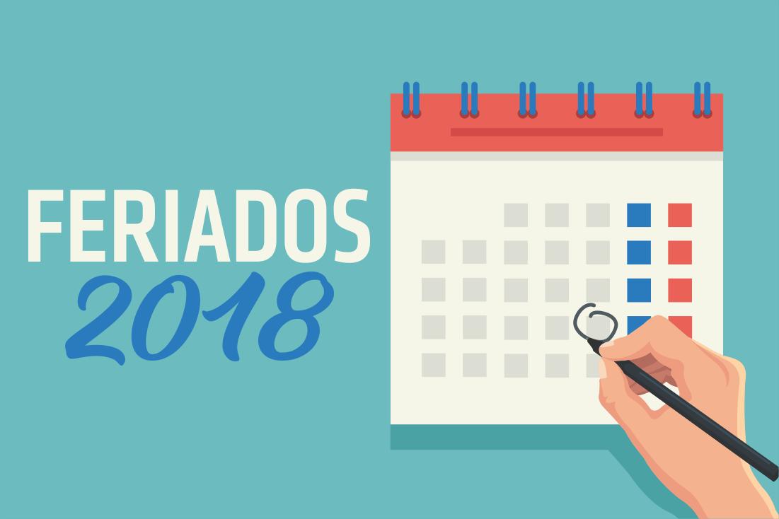 Calendario 2018 Anual