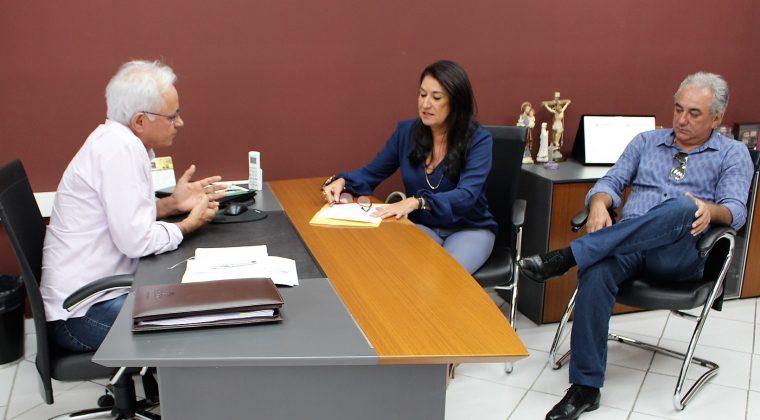 Prefeita de Chapada dos Guimarães solicita vistoria do Crea-MT em obra da Estação de Tratamento de Água (ETA)