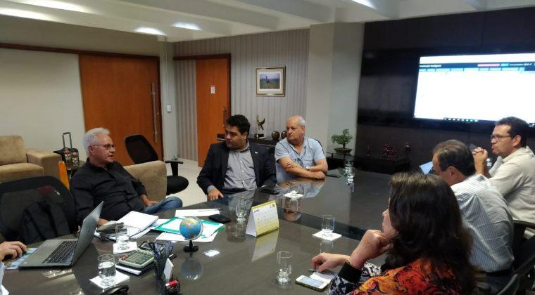 Reunião em Goiânia discute parceria com Embrapa e fiscalização inteligente