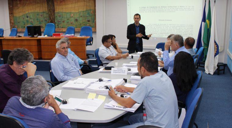Câmara Especializada de Engenharia Civil de MT conhece propostas apresentadas pela Coordenadoria Nacional
