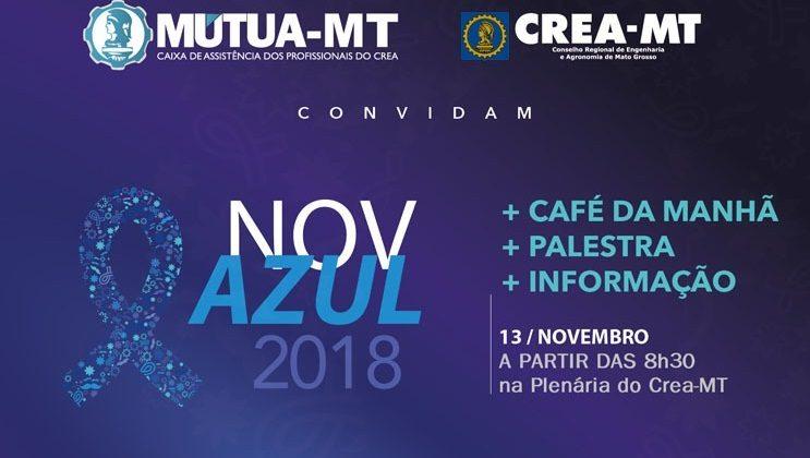 """Mútua-MT promove palestra alusiva ao """"Novembro Azul"""""""