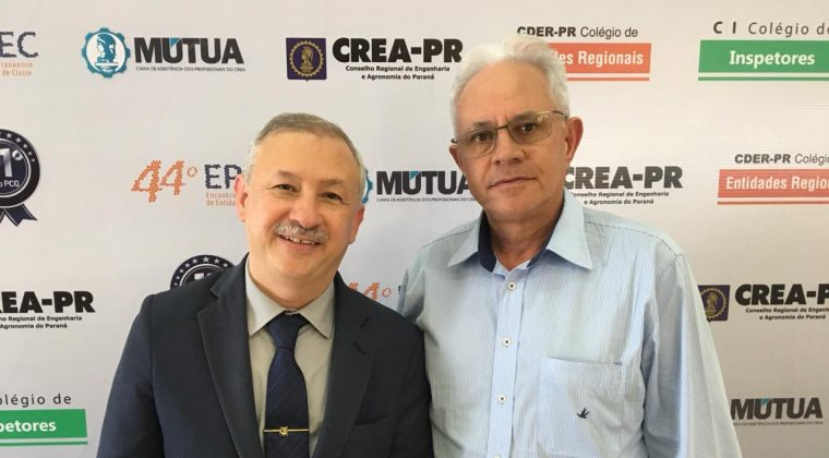 Presidente do Crea-MT participa do 44º Encontro Paranaense de Entidades de Classe