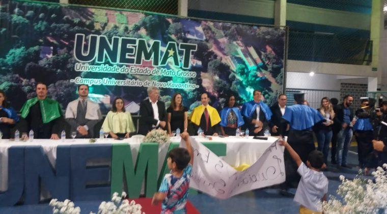 Crea-MT entrega Registro Provisório a recém-formados da Unemat de Nova Xavantina