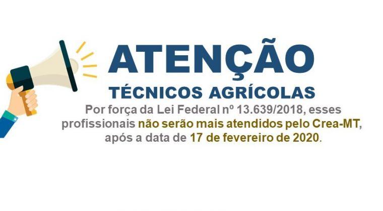 Atenção Técnicos Agrícolas: Informações sobre a criação e transição para o Conselho do Técnicos Agrícolas