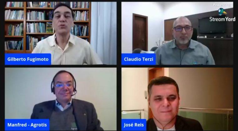 """Crea-MT presente em """"Live """"nacional debatendo o tema: Engenheiro Agrônomo e o Receituário Agronômico"""