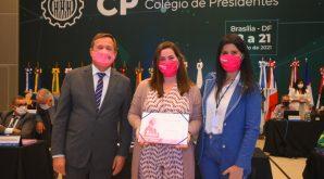 Participação da 1° vice-presidente do Crea-MT, engenheira civil Marciane Prevedello Curvo na 2ª Reunião Ordinária do Colégio de Presidentes do Sistema Confea/Crea, em Brasília