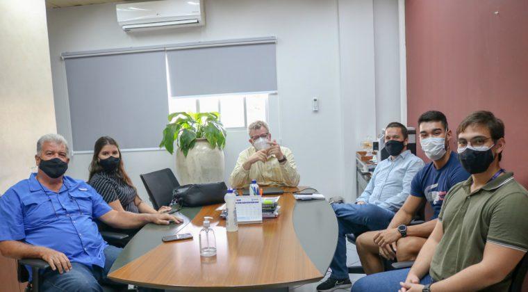 Crea-MT, UFMT e IFMT discutem retomada das atividades do Crea Júnior