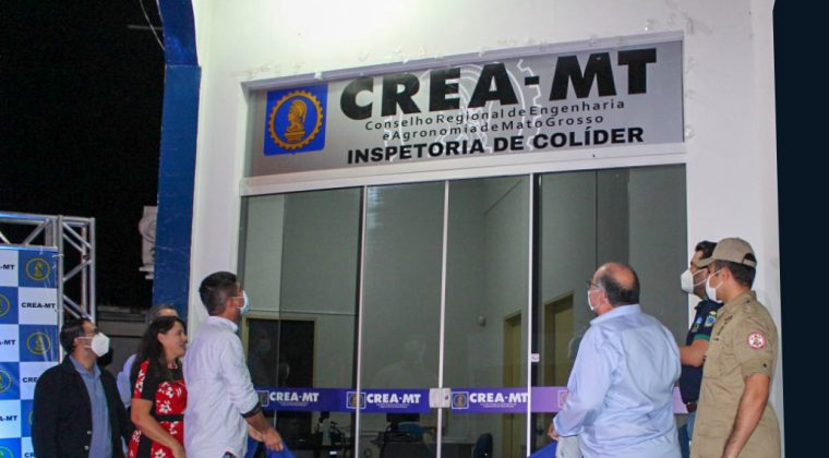 """Juares   destaca """"interiorização do Crea-MT"""" durante inauguração da inspetoria de Colíder"""