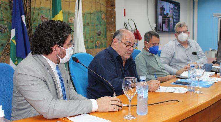 Plenário recebe coordenador da Câmara Especializada de Engenharia de Segurança do Trabalho Nacional
