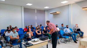 """O Conselho Regional de Engenharia e Agronomia de Mato Grosso (Crea-MT), realizou nos municípios de Sinop e Sorriso a palestra: """" Pavimentação"""""""