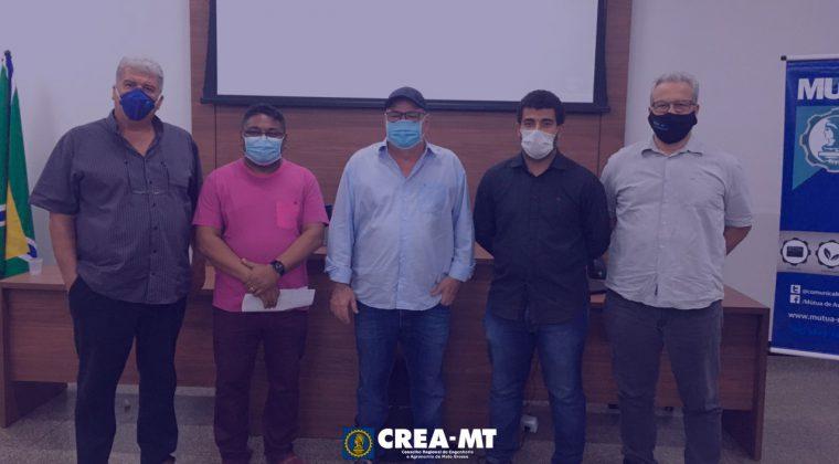 """Crea-MT promove palestra: """" Pavimentação"""" para profissionais do Sistema do Norte do Estado"""