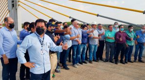 Crea-MT presente em visita técnica do ministro da infraestrutura em obras do Contorno Rodoviário de Barra do Garças